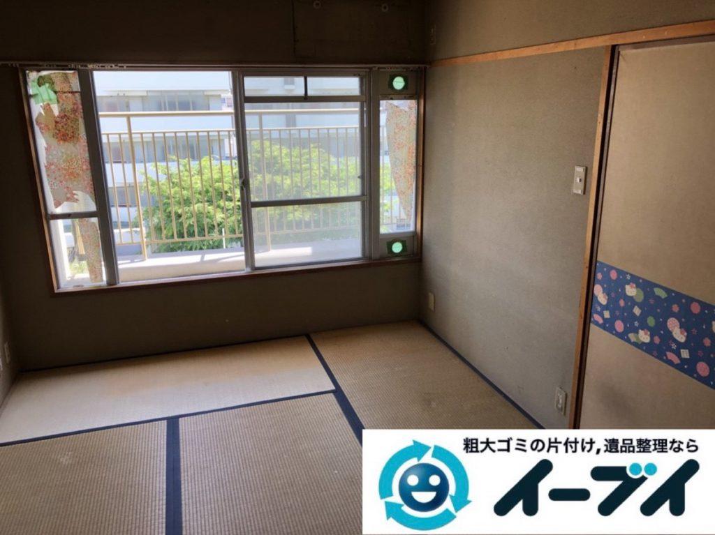 2019年3月22日大阪府大阪市生野区でお部屋と浴室の片付け作業です。写真2
