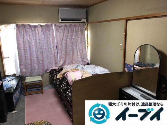 2019年3月22日大阪府大阪市生野区でお部屋と浴室の片付け作業です。写真1