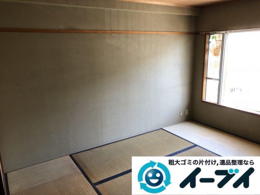 2019年3月25日大阪府大阪市此花区で退去に伴い、お家の家財道具の不用品回収。写真4