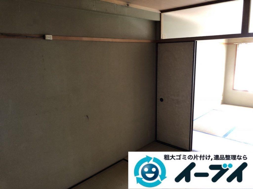 2019年4月4日大阪府大阪市福島区でキッチンやお部屋の不用品回収。写真2