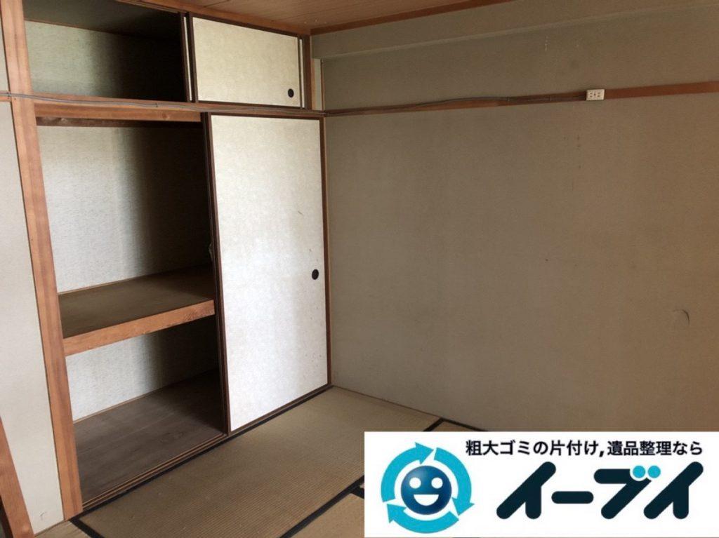 2019年3月27日大阪府大阪市都島区で引越しに伴い、お家の家財道具の不用品回収。写真4