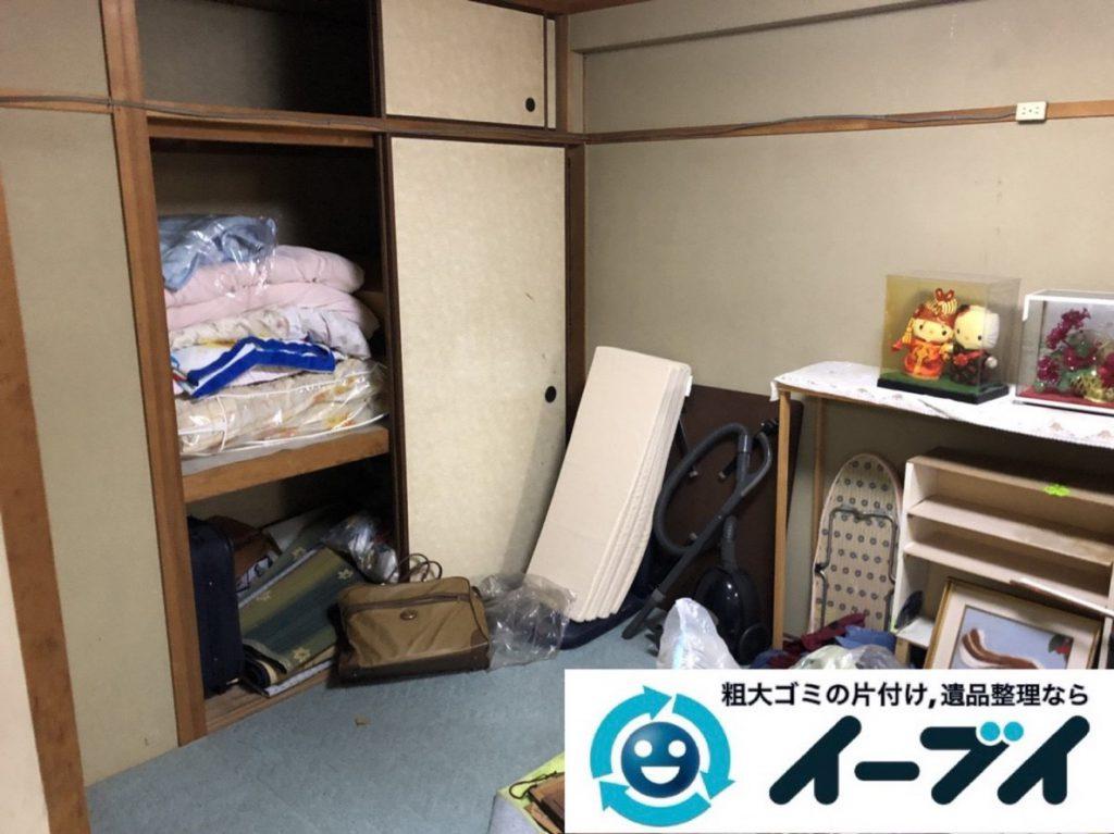2019年3月27日大阪府大阪市都島区で引越しに伴い、お家の家財道具の不用品回収。写真3