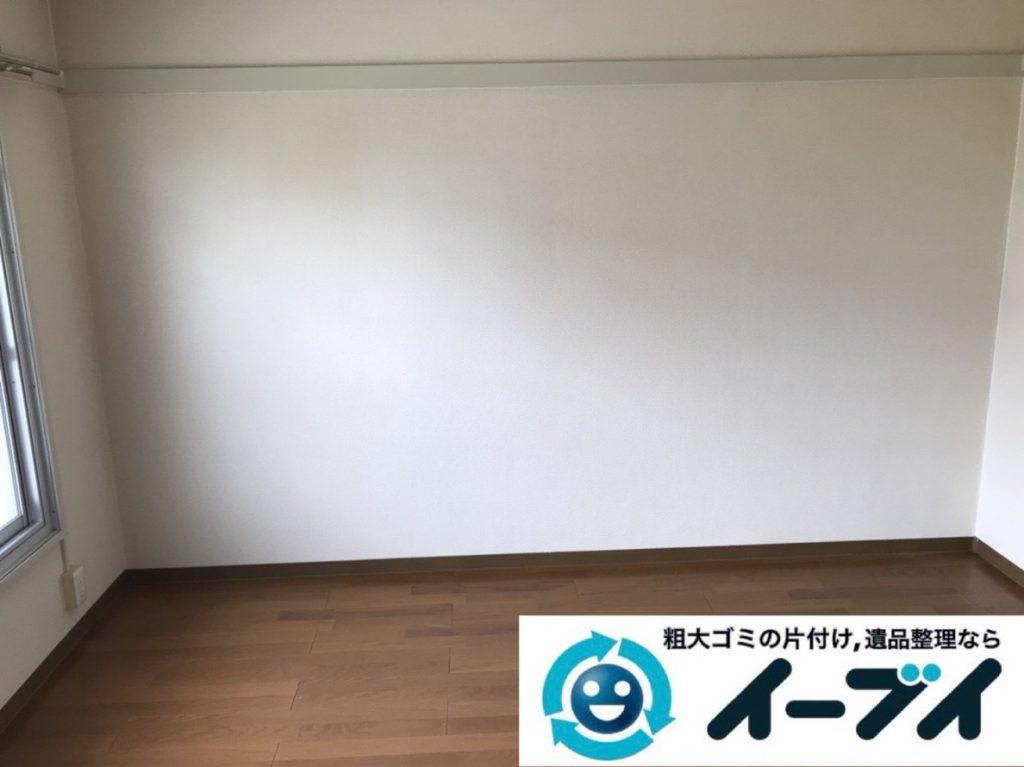 2019年4月2日大阪府大阪市西淀川区で引越しに伴いお家の家財道具一式処分させていただきました。写真4