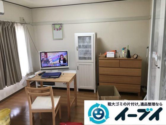 2019年4月2日大阪府大阪市西淀川区で引越しに伴いお家の家財道具一式処分させていただきました。写真3