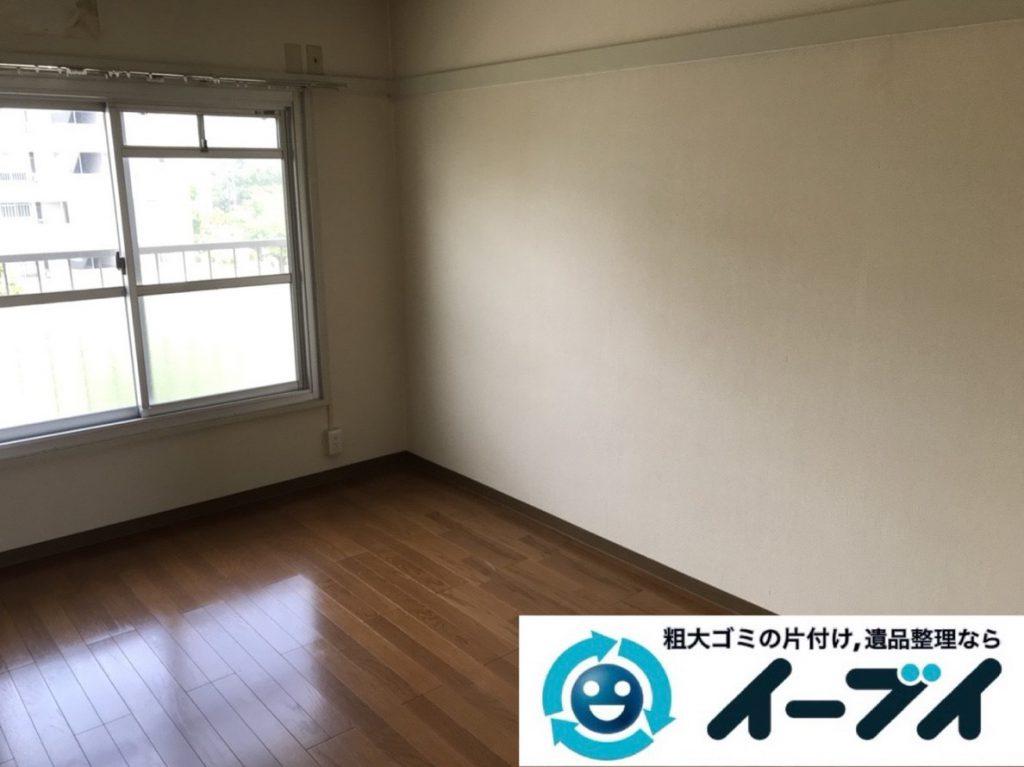 2019年4月2日大阪府大阪市西淀川区で引越しに伴いお家の家財道具一式処分させていただきました。写真2