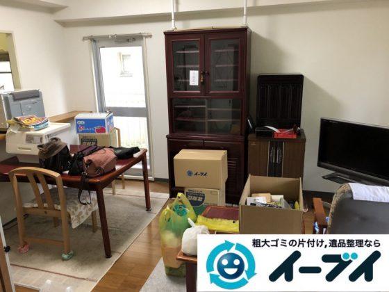 2019年3月31日大阪府大阪市阿倍野区で退去に伴い、お家の家財道具一式処分させていただきました。写真4