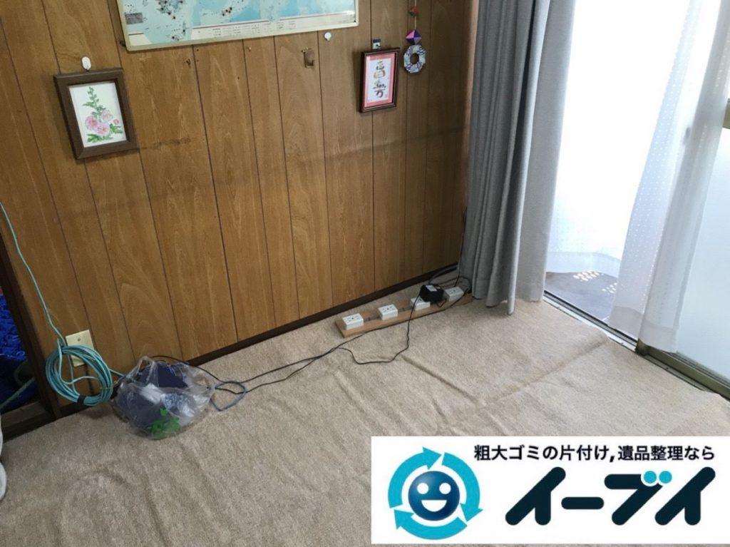 2019年3月19日大阪府大阪市北区で引越しに伴いお家の家具や生活用品など全て回収しました。写真4