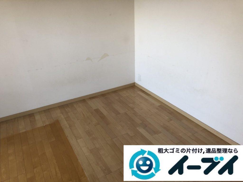 2019年3月19日大阪府大阪市北区で引越しに伴いお家の家具や生活用品など全て回収しました。写真2