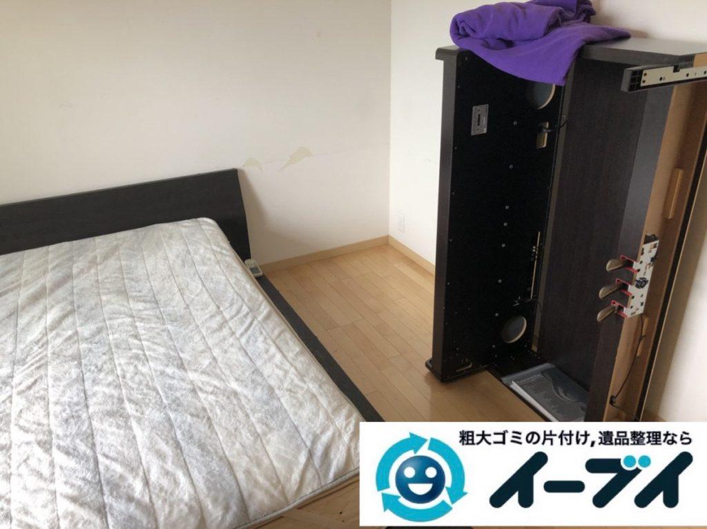 2019年3月19日大阪府大阪市北区で引越しに伴いお家の家具や生活用品など全て回収しました。写真1