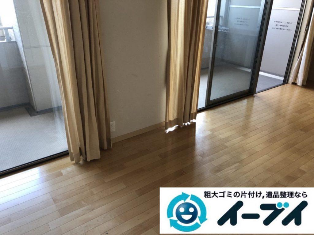 2019年3月18日大阪府堺市西区で不要な家具や家電の粗大ゴミから生活用品まで、全て不用品回収させていただきました。写真4