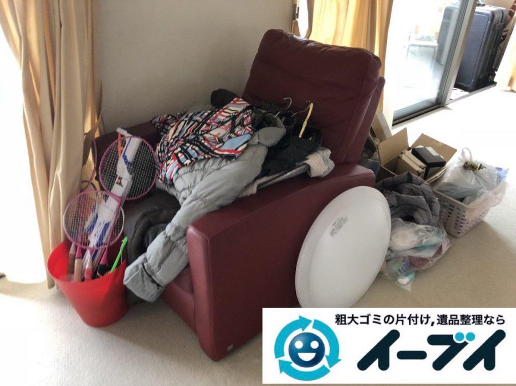 2019年3月18日大阪府堺市西区で不要な家具や家電の粗大ゴミから生活用品まで、全て不用品回収させていただきました。写真3