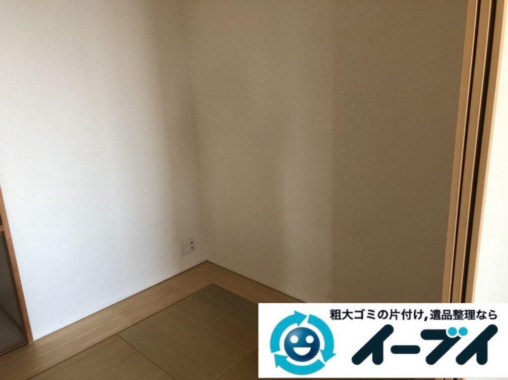 2019年3月18日大阪府堺市西区で不要な家具や家電の粗大ゴミから生活用品まで、全て不用品回収させていただきました。写真2
