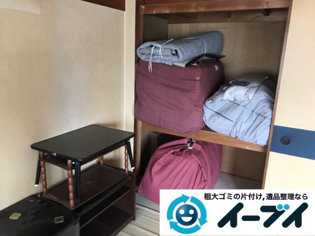 2019年3月29日大阪府大阪市城東区で部屋一室の不用品回収作業。写真3