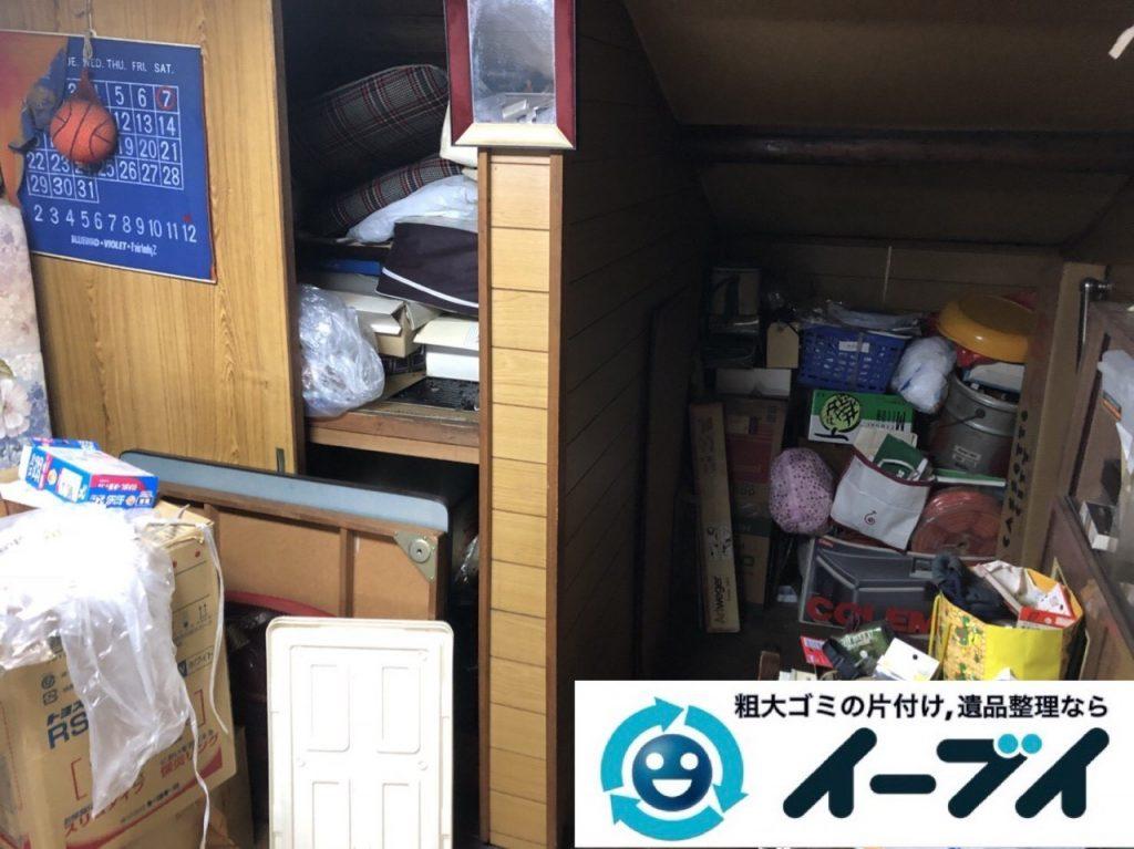2019年5月26日大阪府箕面市で引越しに伴いお家の家財道具を全処分させていただきました。写真3