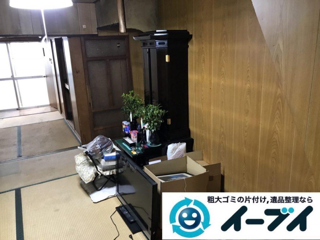 2019年5月22日大阪府大阪市鶴見区で箪笥の婚礼家具の不用品回収。写真4