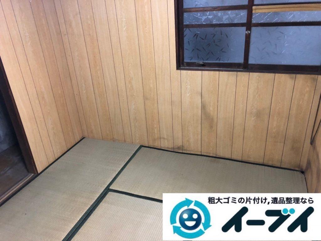 2019年5月24日大阪府門真市でタンスの家具処分、エアコンの家電処分の不用品回収。写真4
