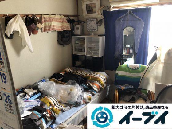 2019年4月14日大阪府堺市北区でマンション一室の不用品回収。写真4