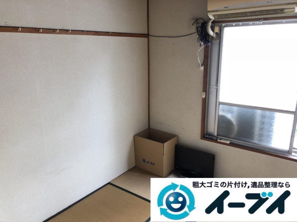 2019年4月14日大阪府堺市北区でマンション一室の不用品回収。写真3