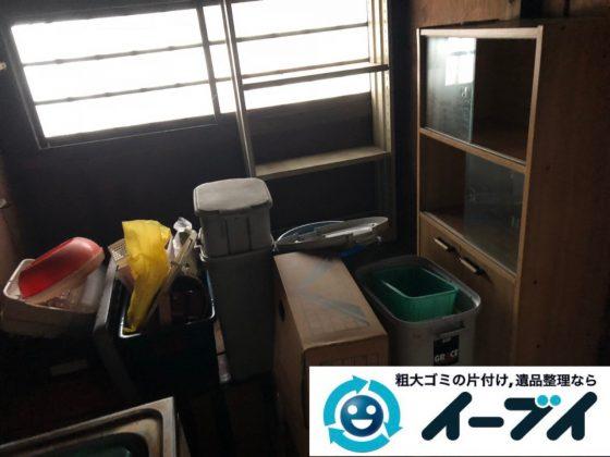 2019年4月11日大阪府交野市で残置物の不用品回収。写真4