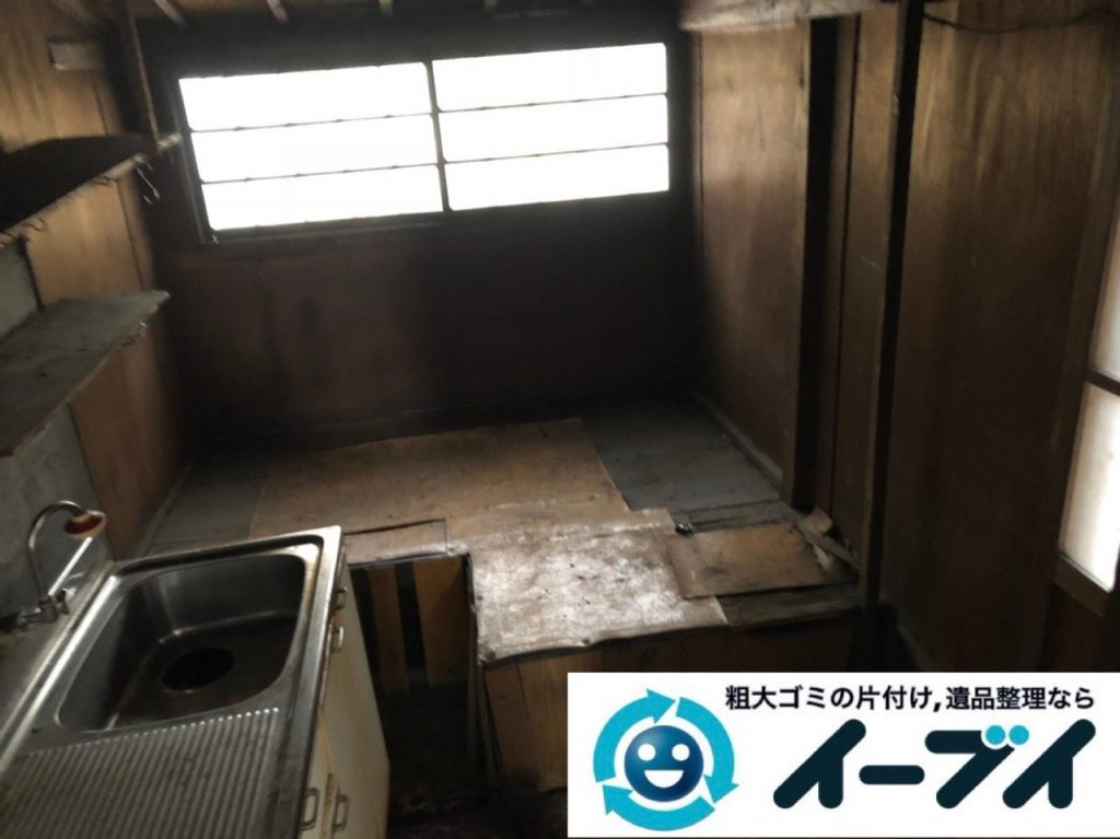 2019年4月11日大阪府交野市で残置物の不用品回収。写真3