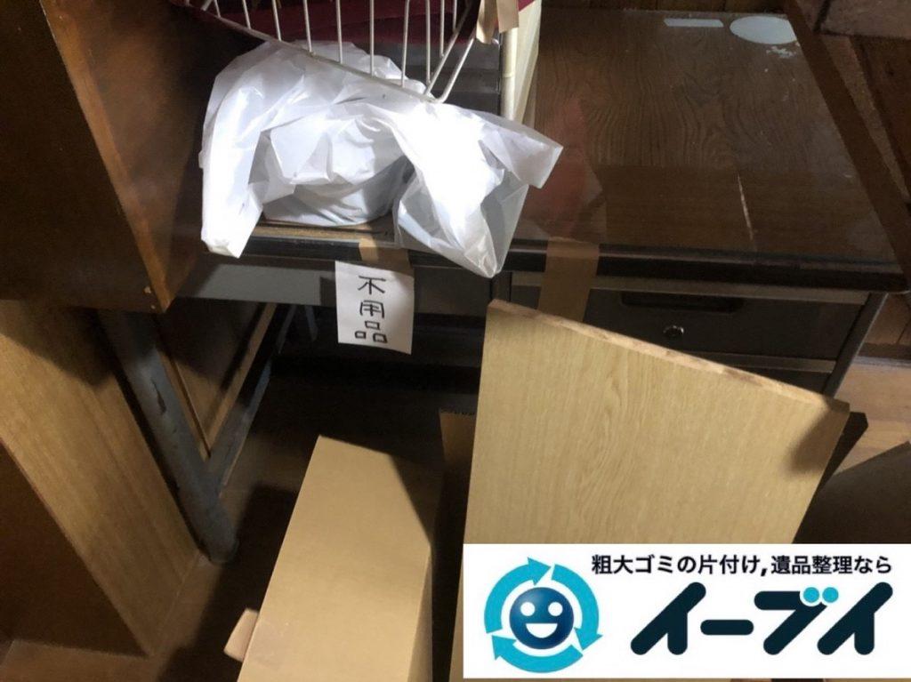 2019年5月27日大阪府大阪市都島区でデスクや金庫の不用品回収。写真3