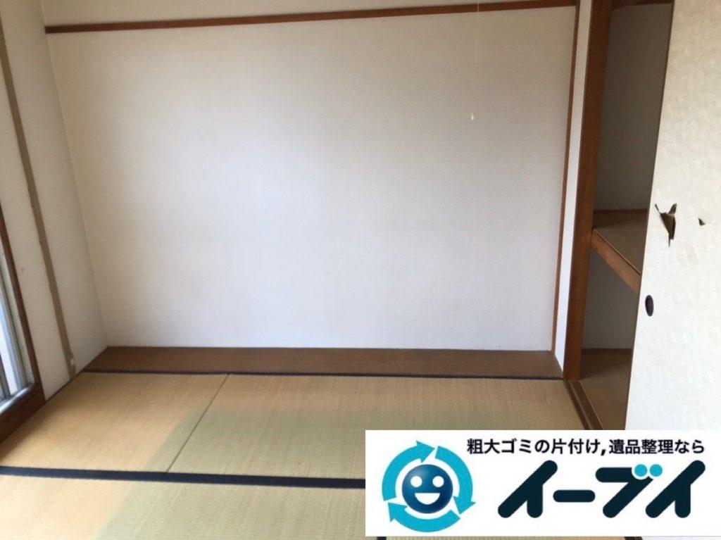 2019年5月28日大阪府高槻市でテレビやハンガーラックの不用品回収作業。写真4
