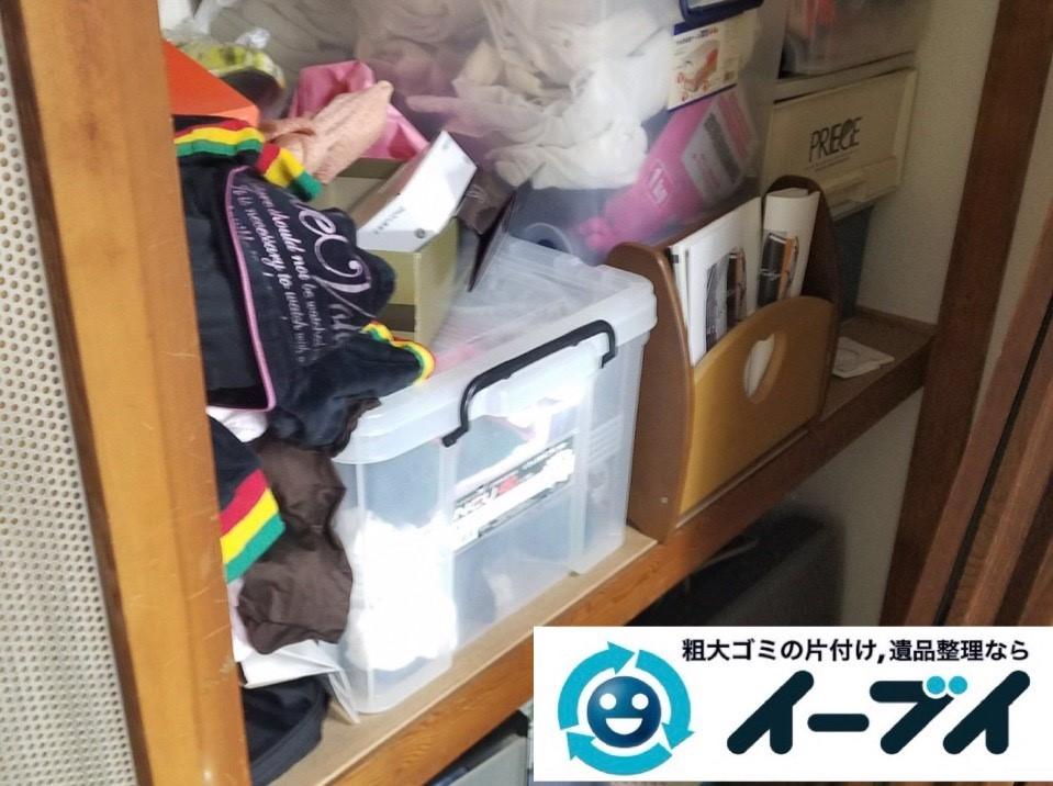 2019年4月17日大阪府交野市でご自身では運び出せない大型家具の不用品回収。写真3