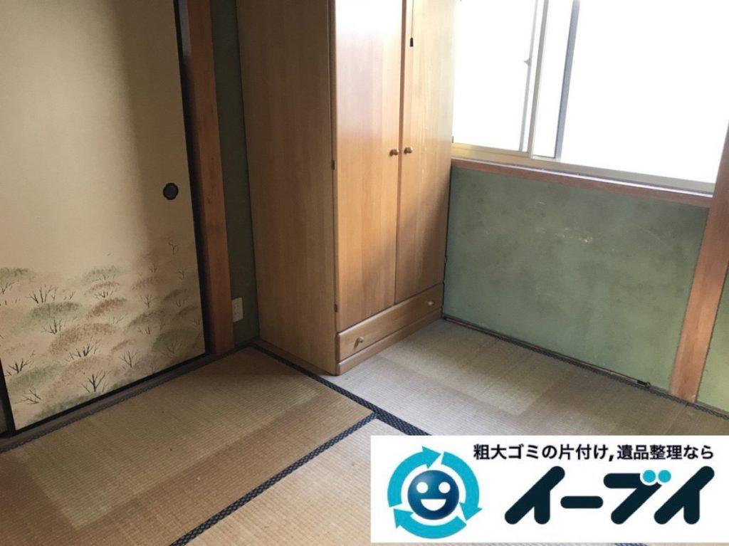 2019年4月15日大阪府堺市北区で婚礼家具や大型家具の不用品回収。写真4
