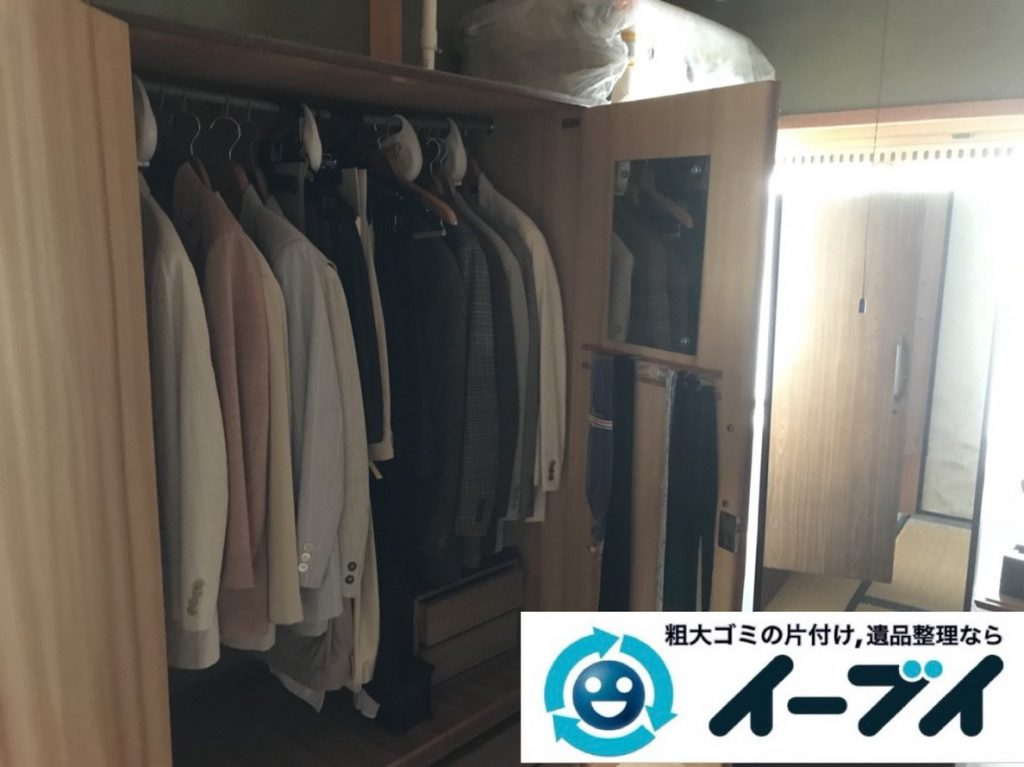 2019年4月15日大阪府堺市北区で婚礼家具や大型家具の不用品回収。写真3