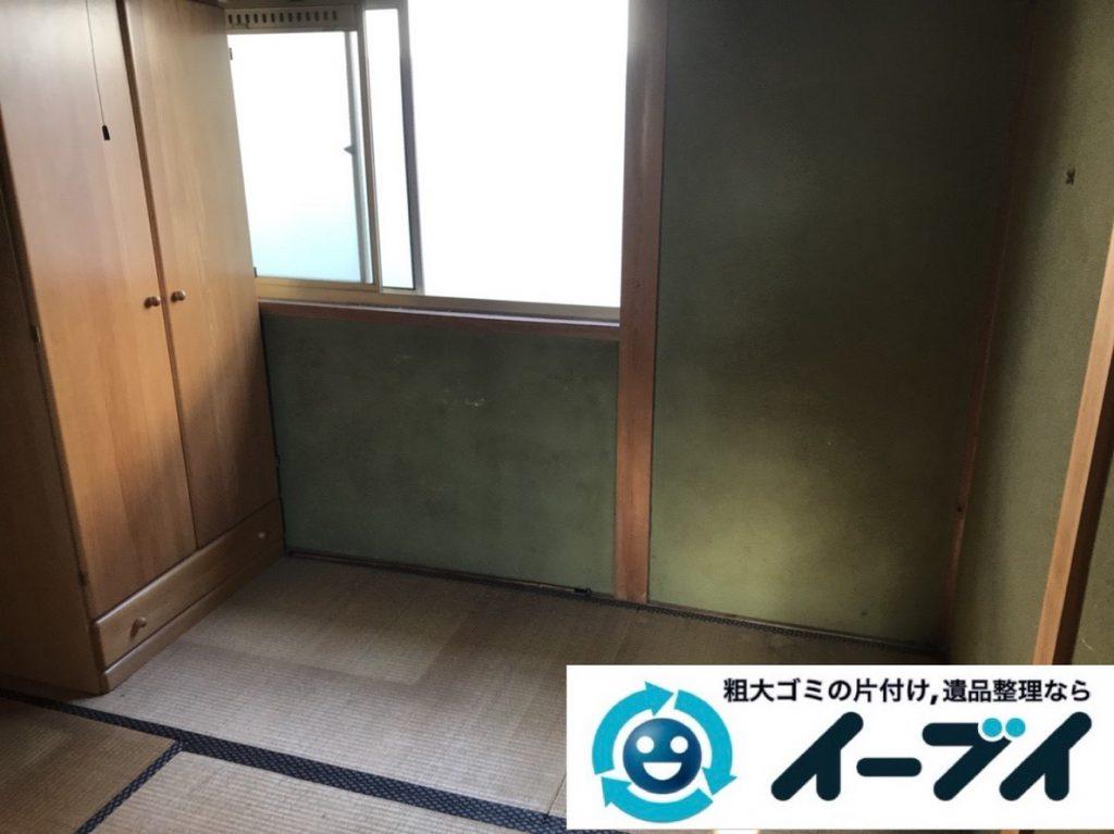 2019年4月15日大阪府堺市北区で婚礼家具や大型家具の不用品回収。写真2