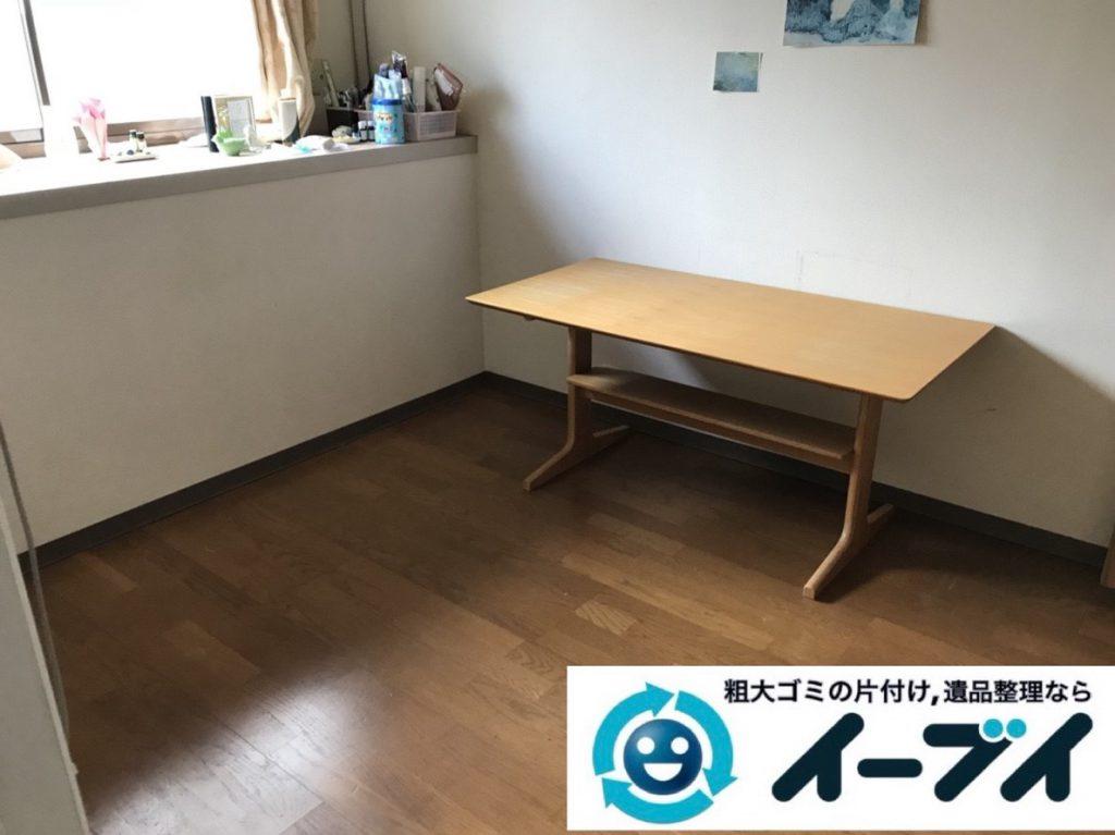 2019年4月21日大阪府大阪市港区で引越しに伴い、お家の家財道具を処分させていただきました。写真3