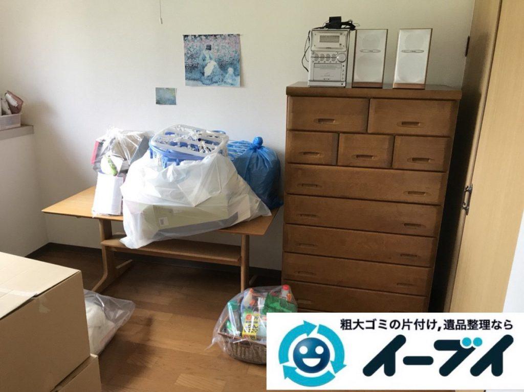 2019年4月21日大阪府大阪市港区で引越しに伴い、お家の家財道具を処分させていただきました。写真2