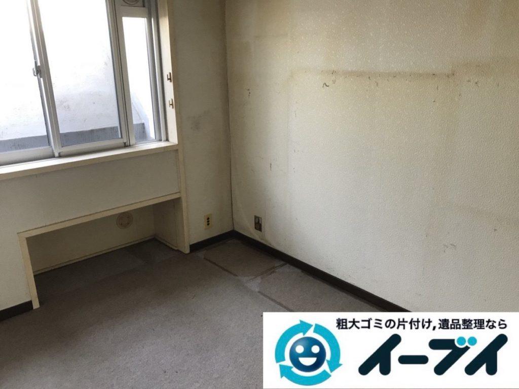 2019年4月23日大阪府大阪市西成区で箪笥や食器棚の大型家具処分をさせていただきました。写真2