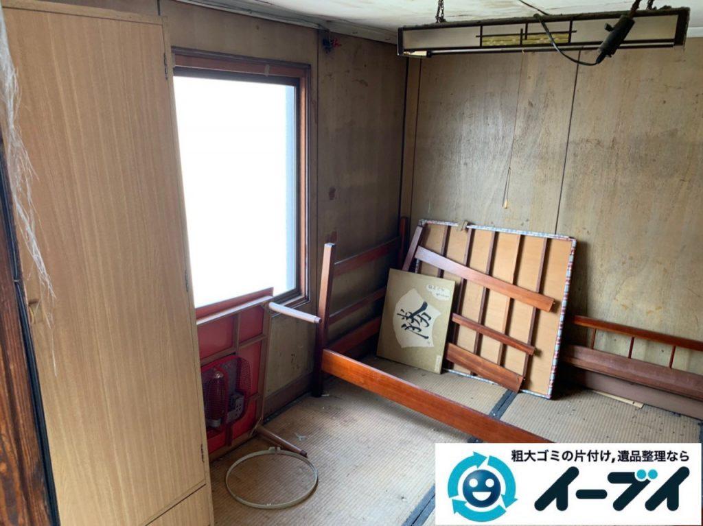 2019年5月16日大阪府堺市中区でお家の残置物の不用品回収。写真6