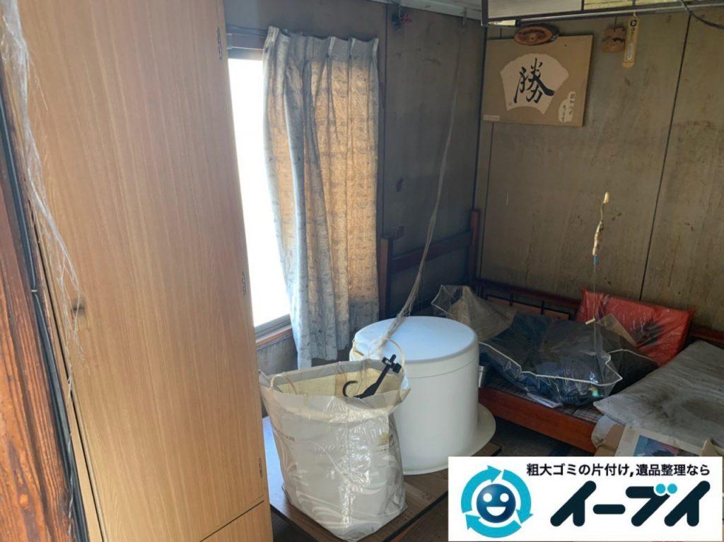 2019年5月16日大阪府堺市中区でお家の残置物の不用品回収。写真5