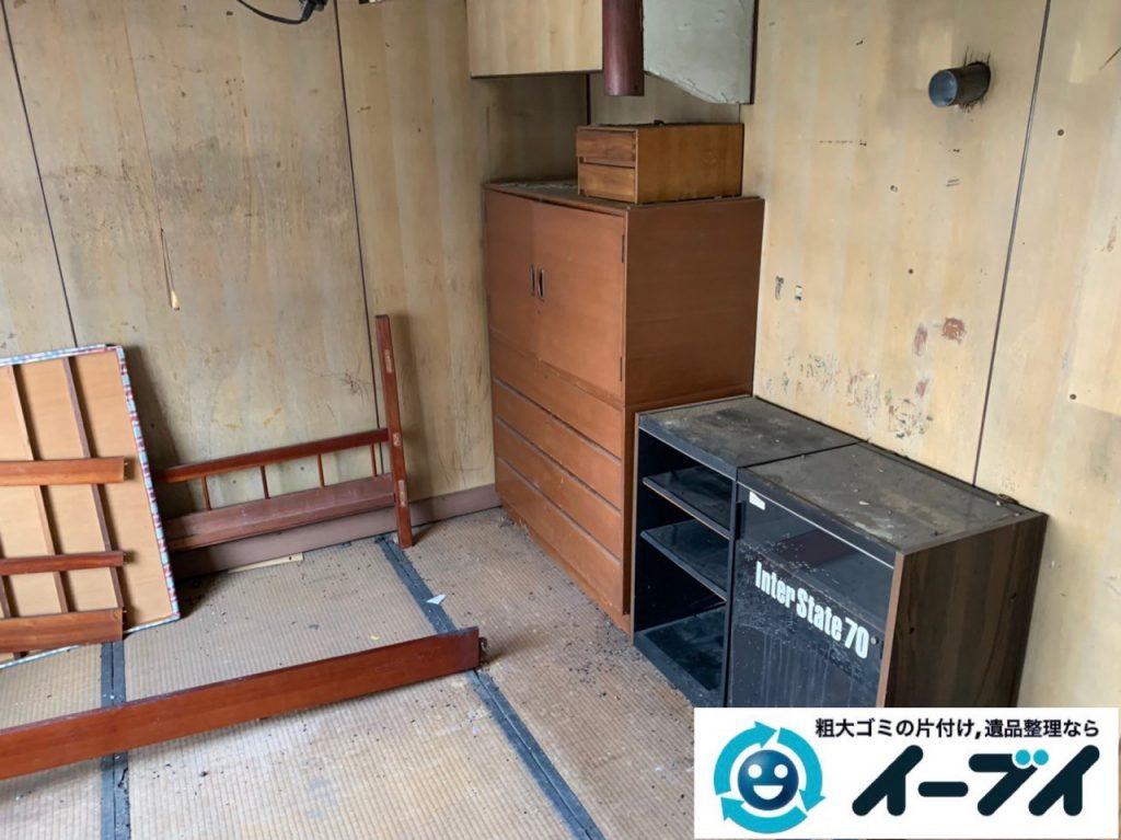 2019年5月16日大阪府堺市中区でお家の残置物の不用品回収。写真4