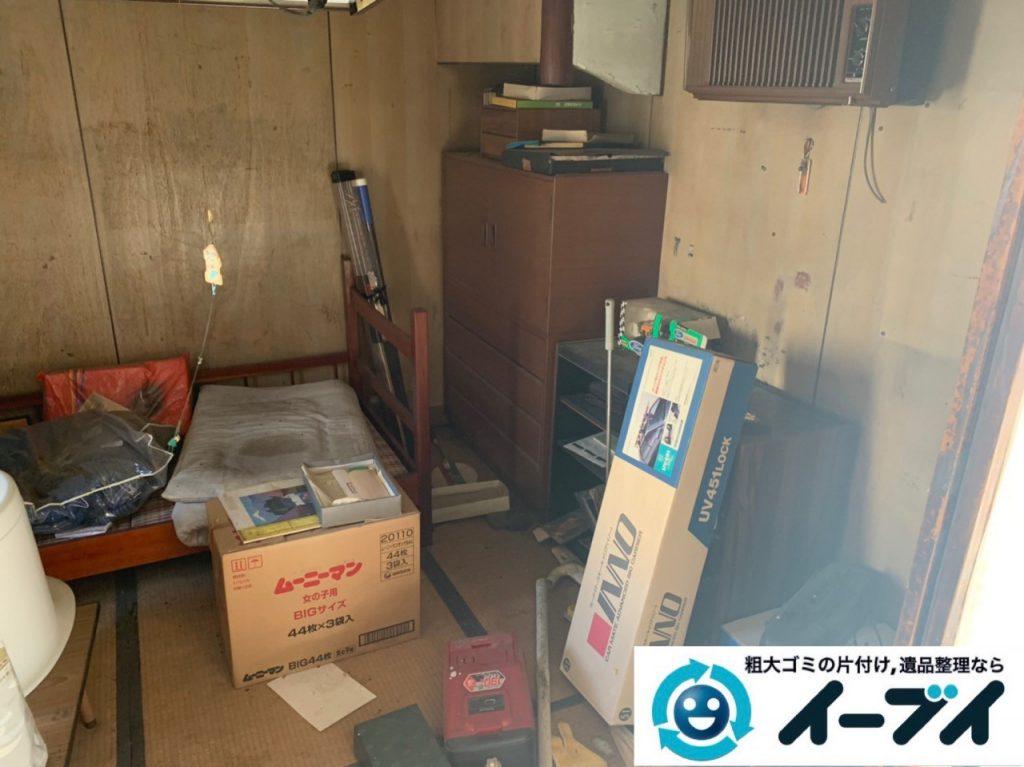 2019年5月16日大阪府堺市中区でお家の残置物の不用品回収。写真3
