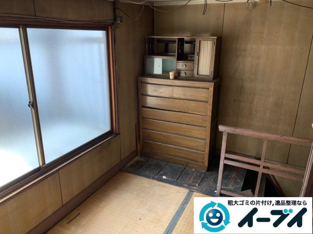 2019年5月16日大阪府堺市中区でお家の残置物の不用品回収。写真2