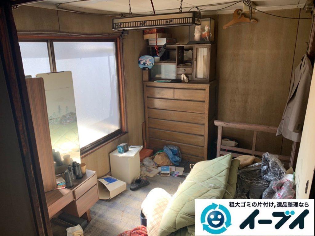 2019年5月16日大阪府堺市中区でお家の残置物の不用品回収。写真1