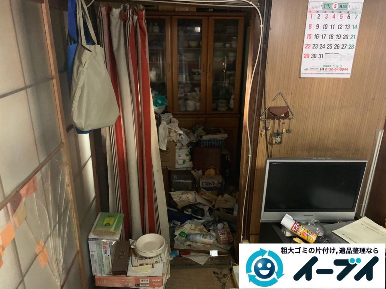 2019年5月14日大阪府吹田市でお家の家財道具を一式処分させていただきました。写真3