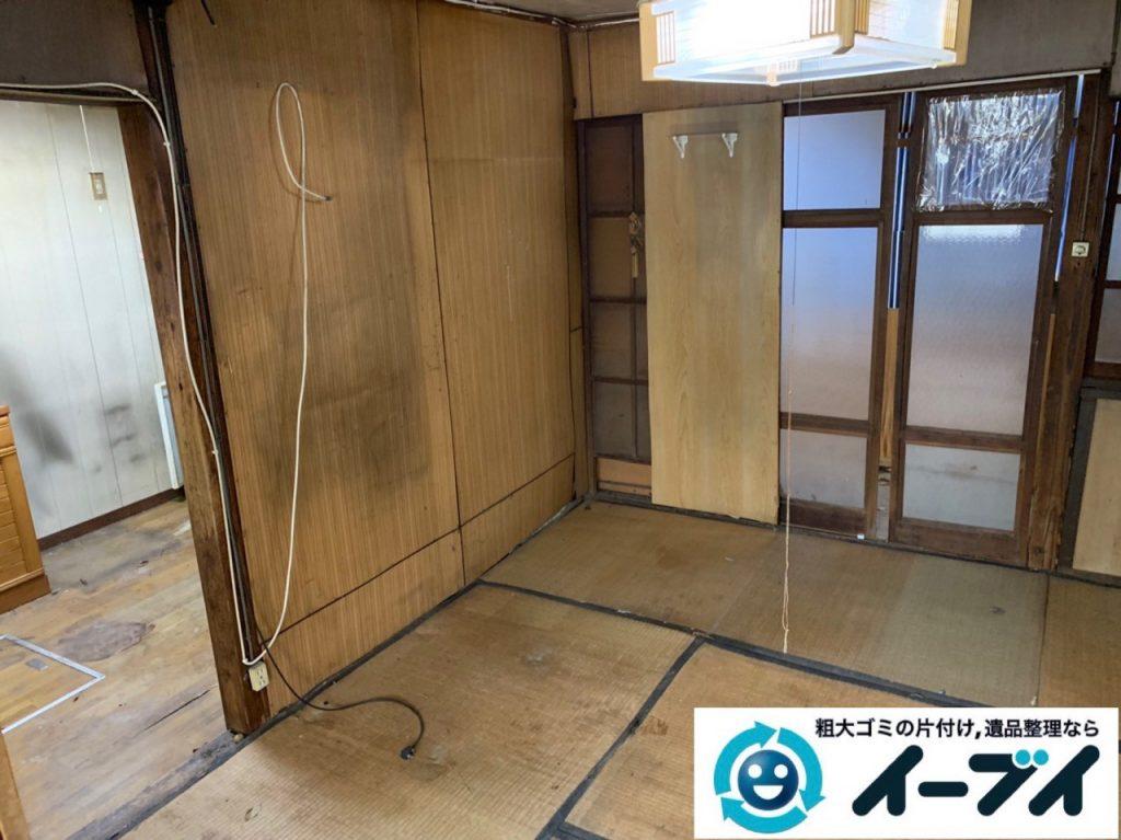 2019年5月14日大阪府吹田市でお家の家財道具を一式処分させていただきました。写真2