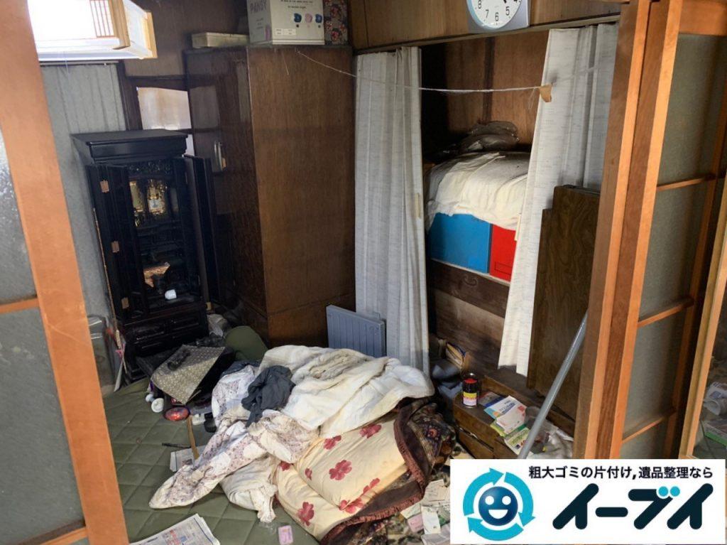 2019年5月13日大阪府泉大津市でゴミ屋敷化した汚部屋の片付け作業です。写真3