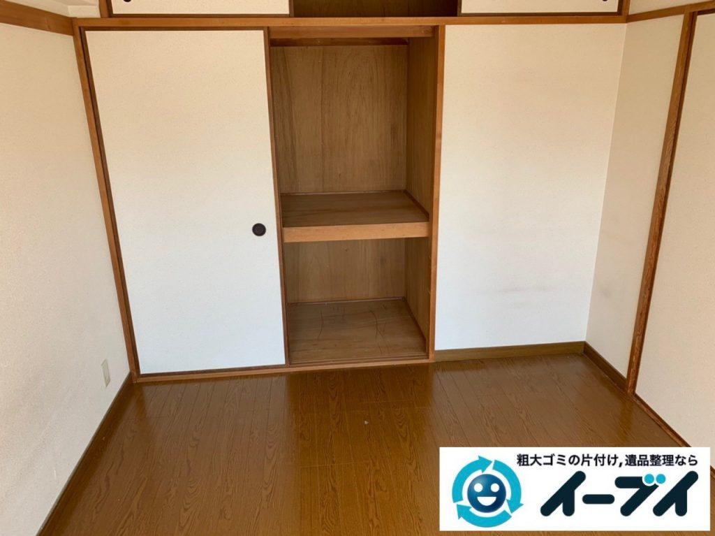 2019年4月29日大阪府大阪市北区で引越しに伴い、お家の家財道具全て処分させていただきました。写真2