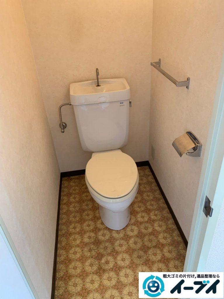 2019年5月7日大阪府大阪市西区で浴室やトイレの不用品回収。写真6