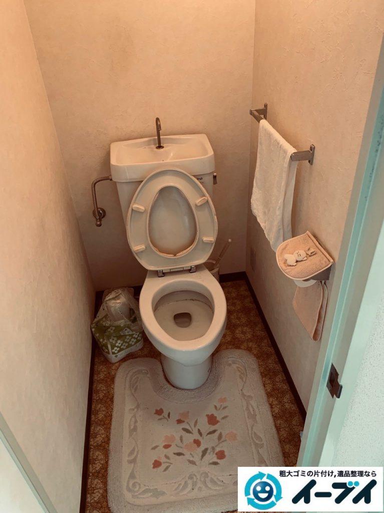 2019年5月7日大阪府大阪市西区で浴室やトイレの不用品回収。写真5
