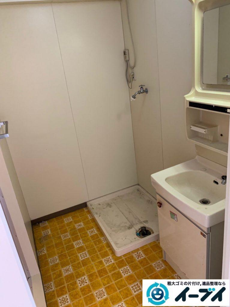 2019年5月7日大阪府大阪市西区で浴室やトイレの不用品回収。写真2