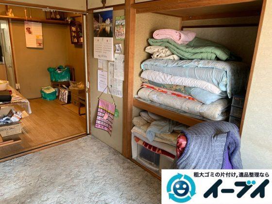 2019年5月20日大阪府堺市西区で退去に伴い婚礼家具などの家財道具処分。写真3