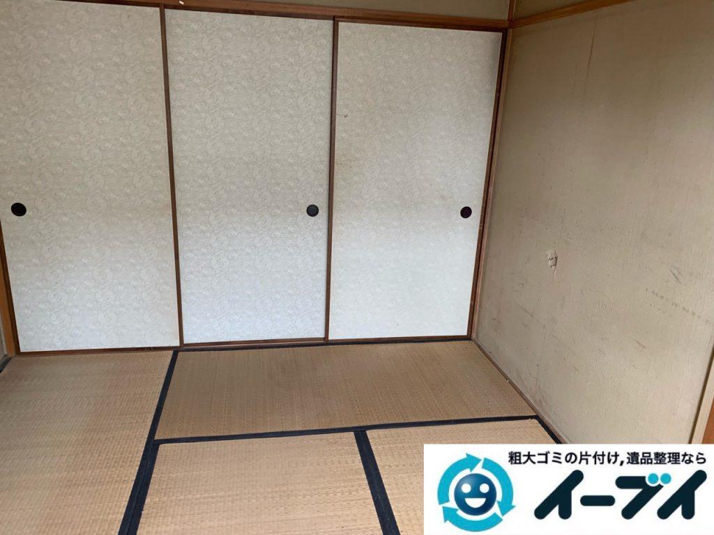 2019年5月20日大阪府堺市西区で退去に伴い婚礼家具などの家財道具処分。写真2