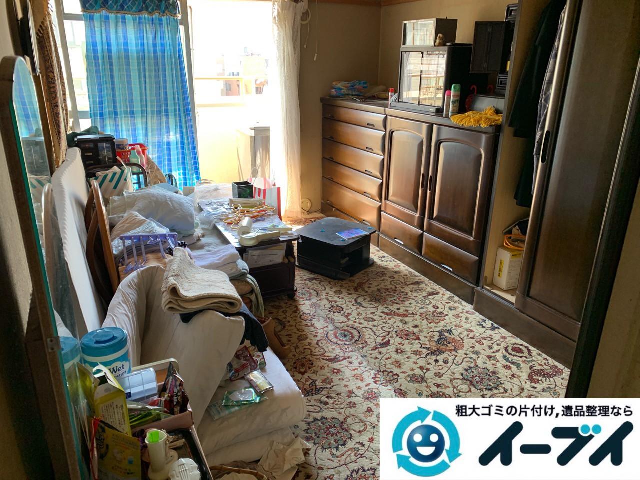 2019年5月8日大阪府枚方市でお部屋の台所の不用品回収作業。写真1