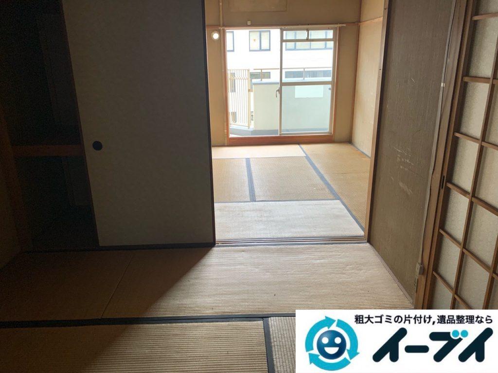 2019年5月17日大阪府大阪市西区で施設に入居するため不用品回収をさせていただきました。写真4